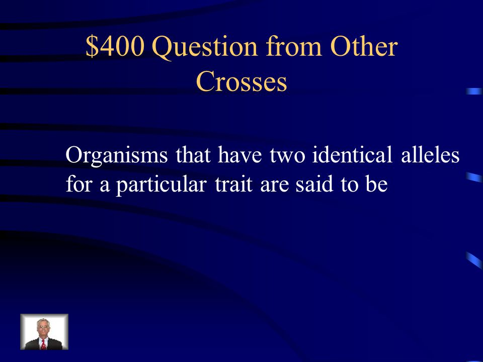 $300 Answer from Other Crosses Polygenic traits