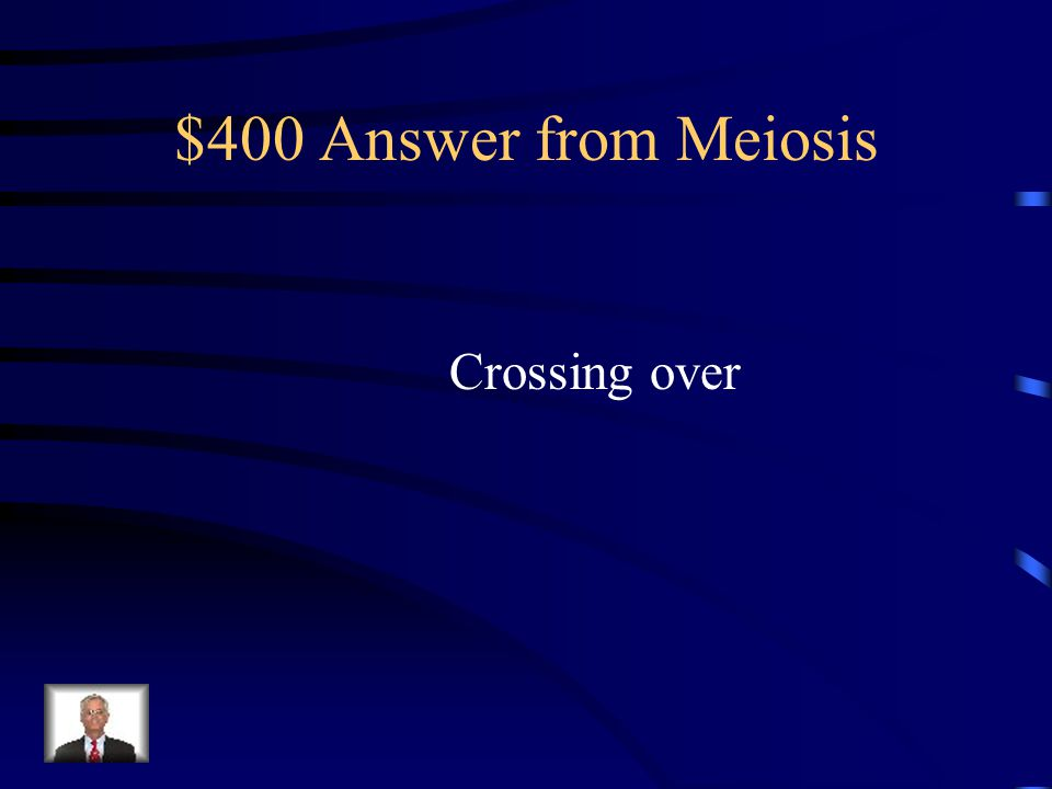 $400 Question from Meiosis What is the above figure showing