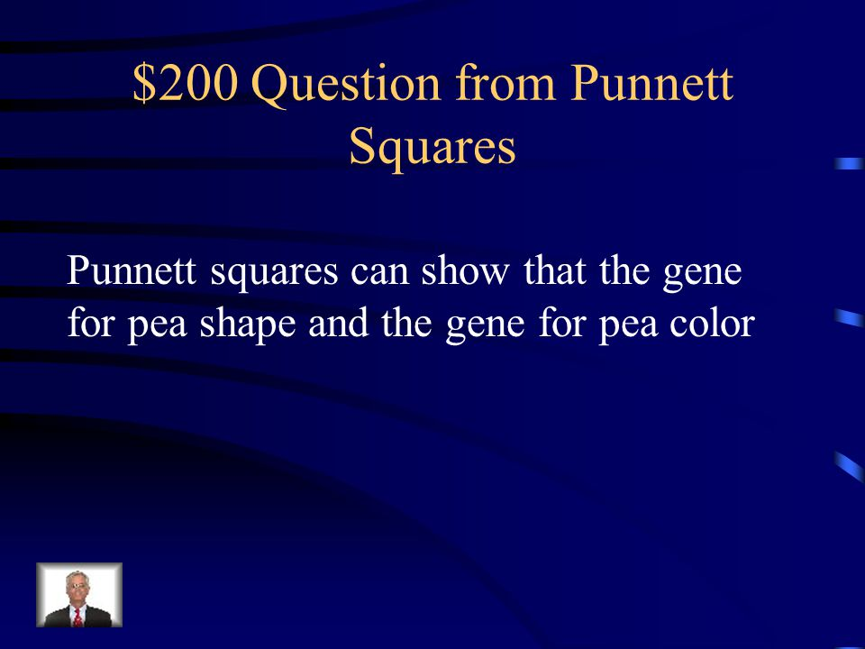 $100 Answer from Punnett Squares 50%