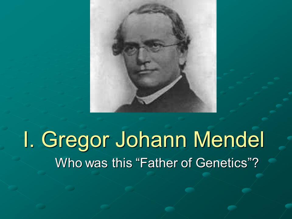 Inheritance of Single-Gene Differences – discovered by Gregor Mendel!!.