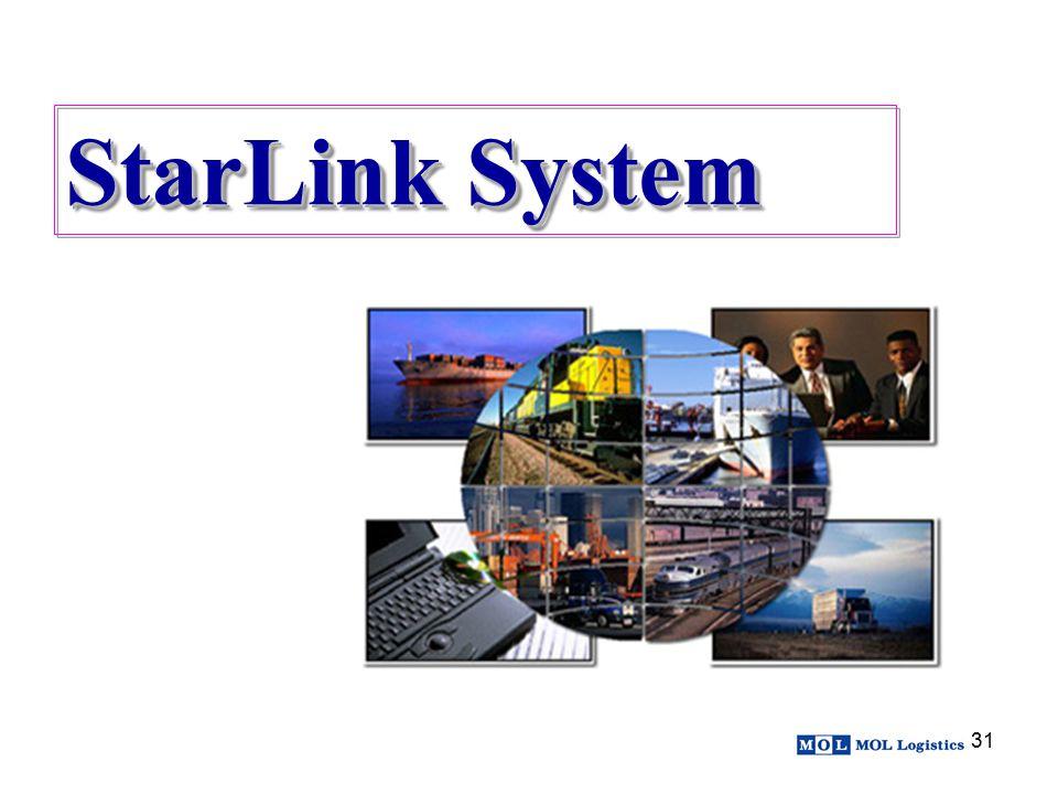 31 StarLink System