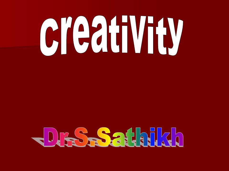 FACTORS AFFECTING CREATIVITY FACTORS AFFECTING CREATIVITY 1.