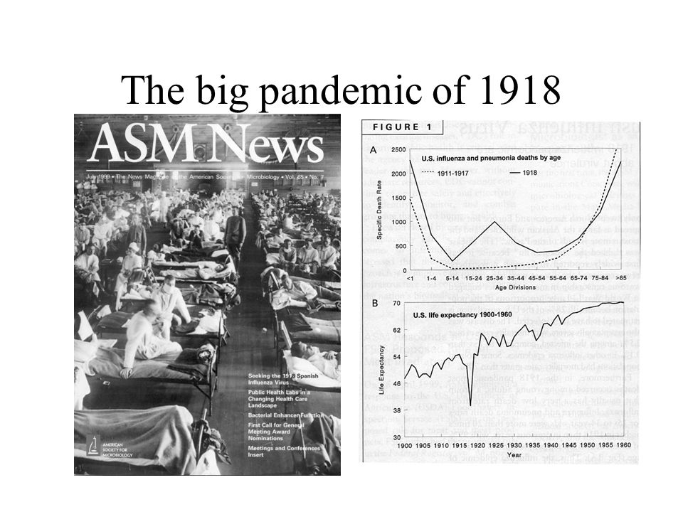 The big pandemic of 1918