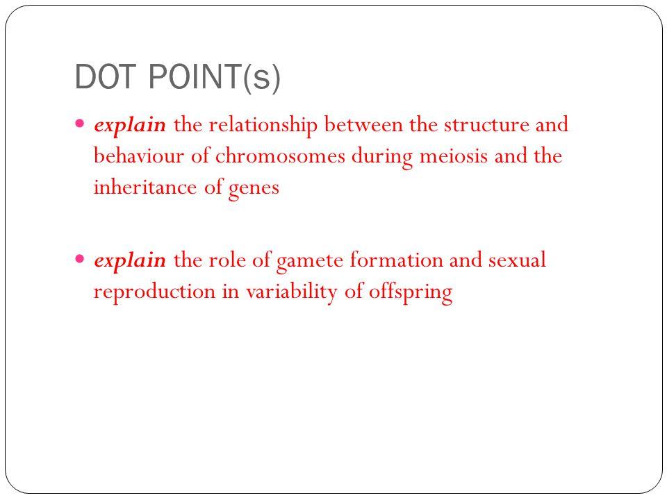 Genetic Variation During meiosis I: 1.