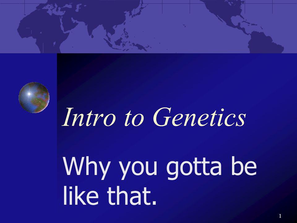 2 Gregor Mendel The father of _______ Studied heredity Aka. genetics
