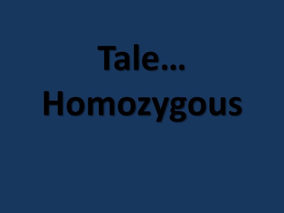 Tale… Homozygous