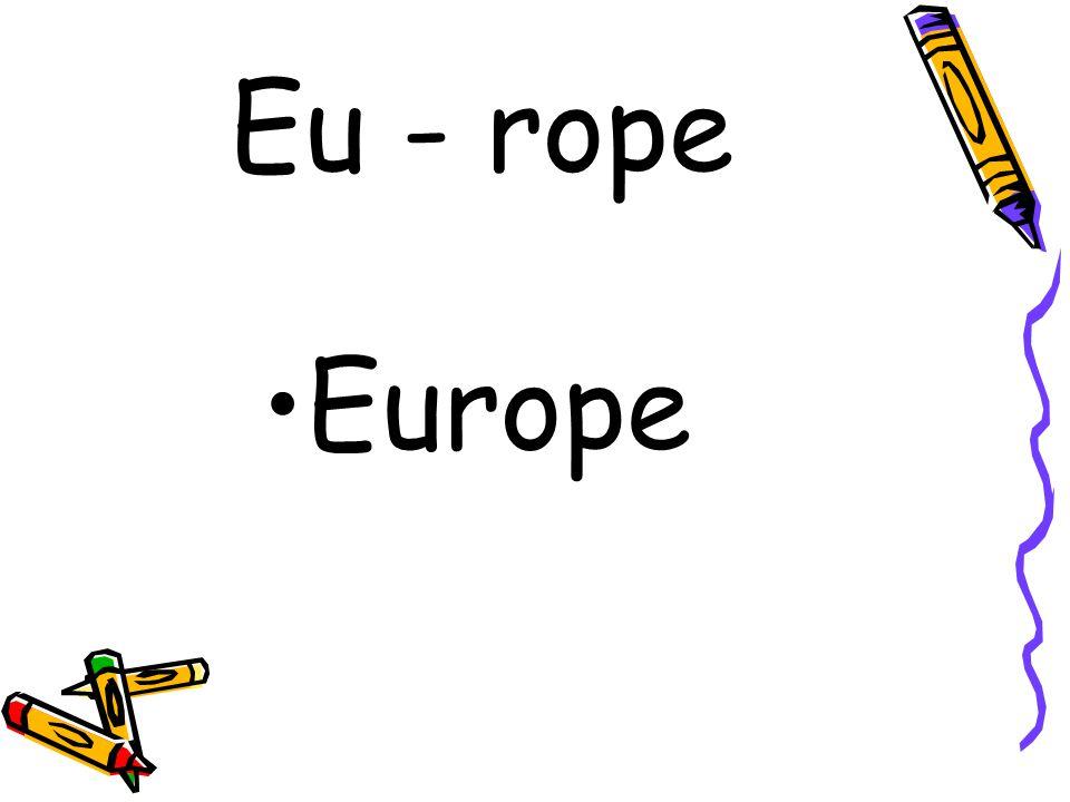 Eu - rope Europe