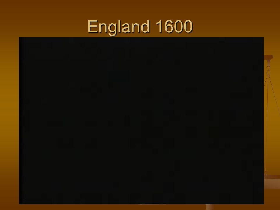 England 1600