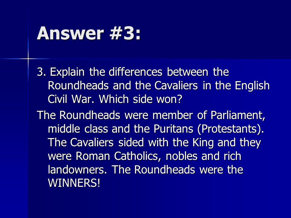 Answer #3: 3.