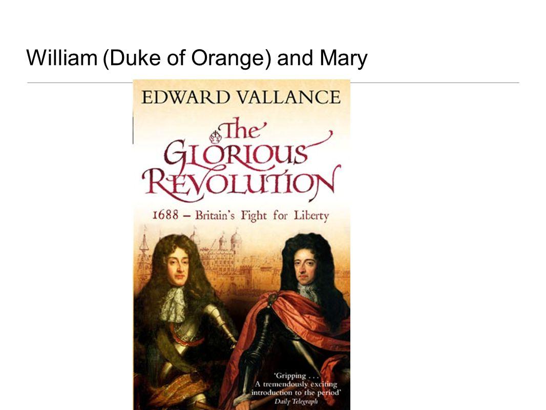 William (Duke of Orange) and Mary
