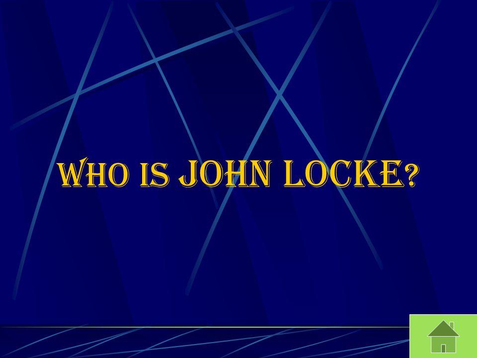 Who is John Locke