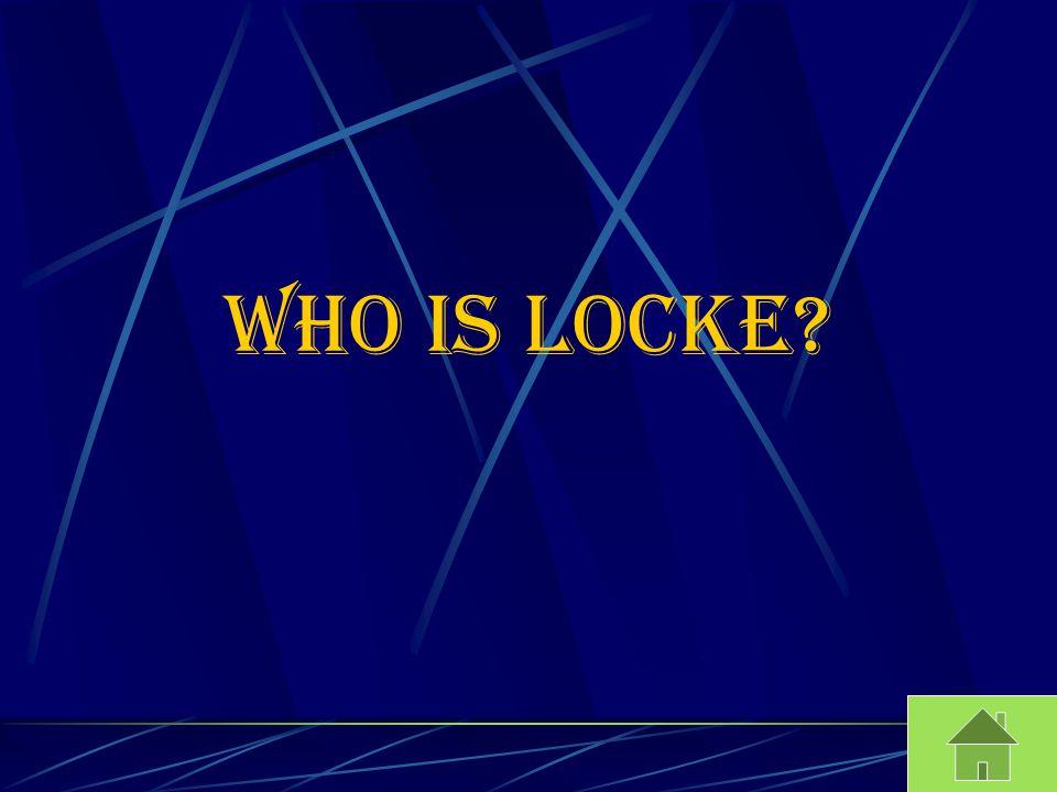 Who is Locke?