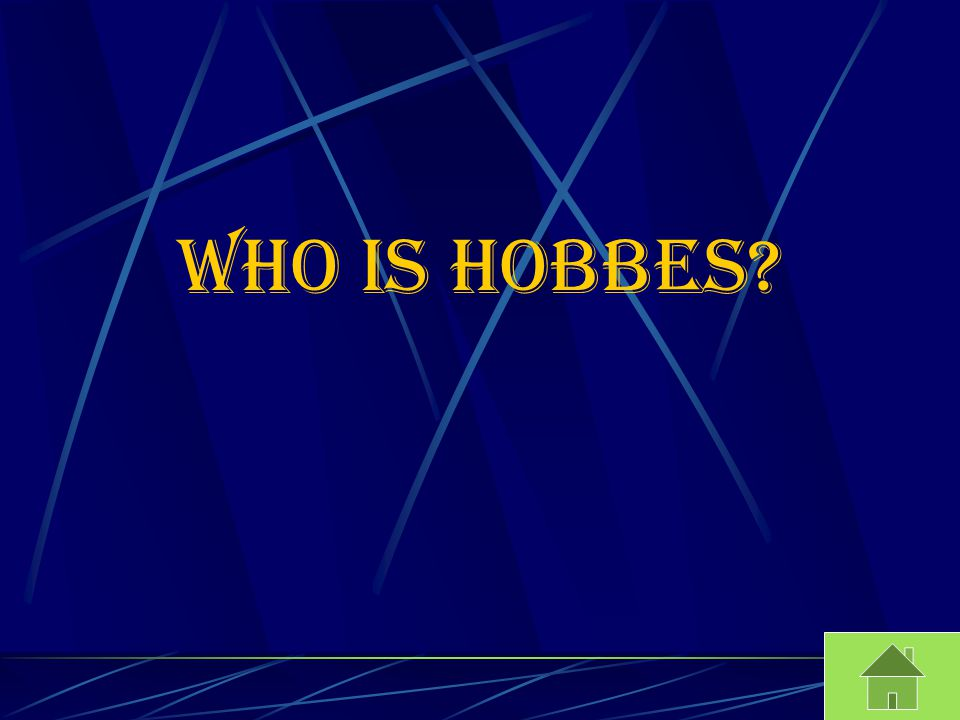 Who is Hobbes?
