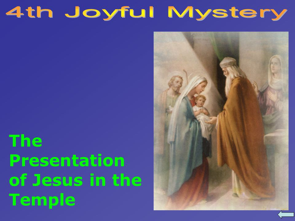 The Presentation of Jesus in the Temple