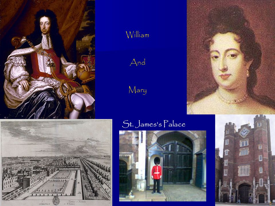 William And Mary St. James's Palace