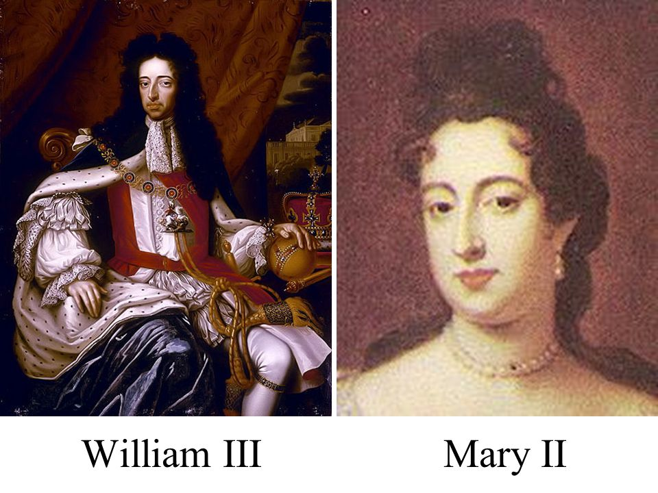 William III Mary II