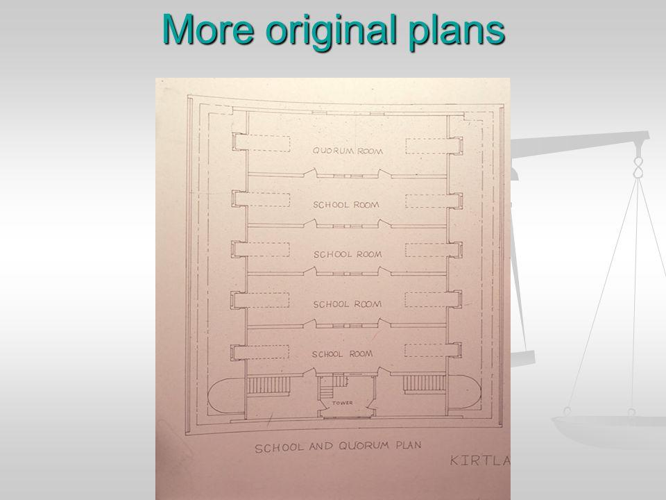 More plans
