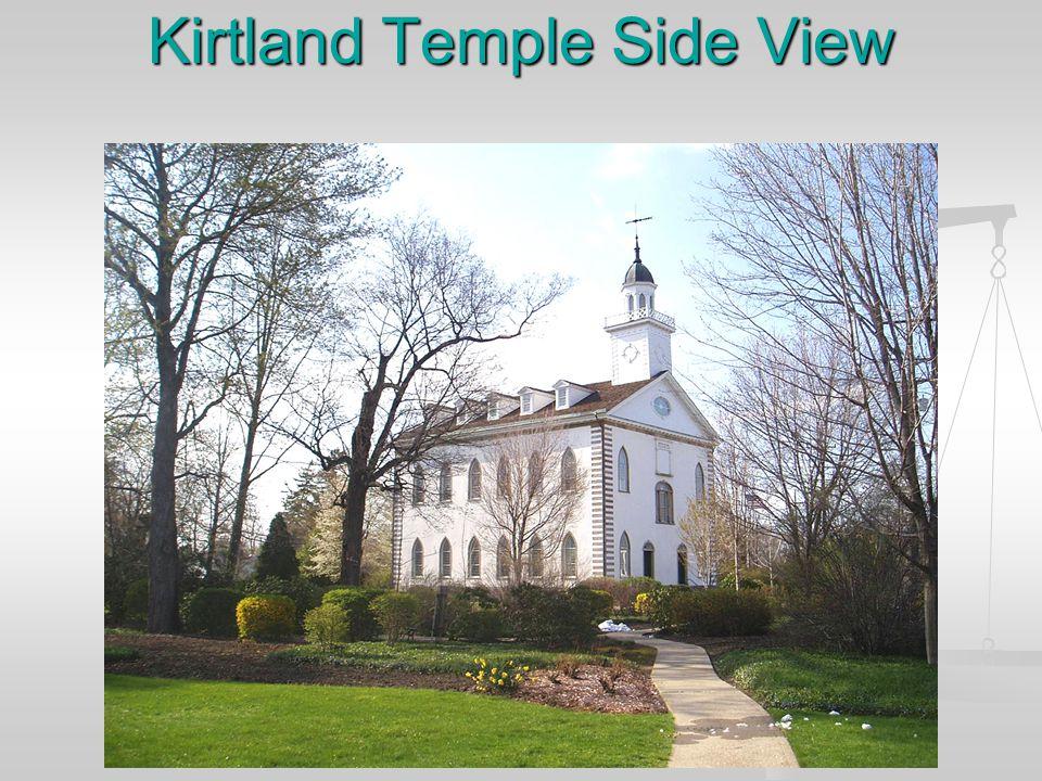 Kirtland Temple rear view.