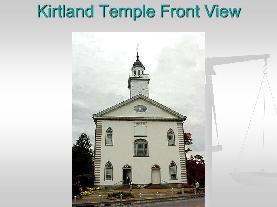 Kirtland Temple Front View