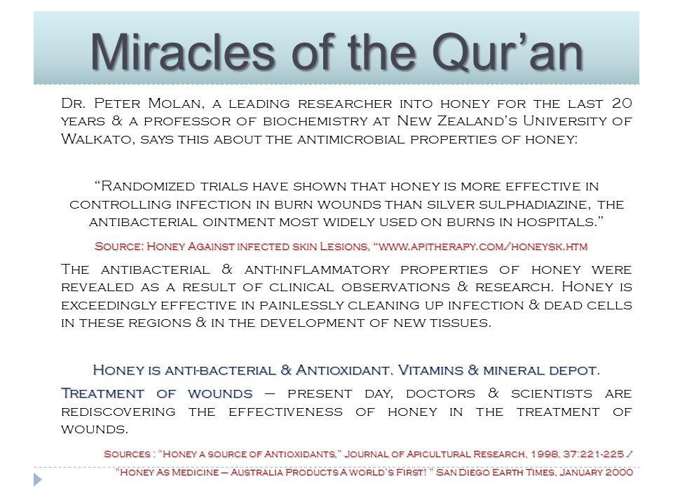 Miracles of the Qur'an Dr.