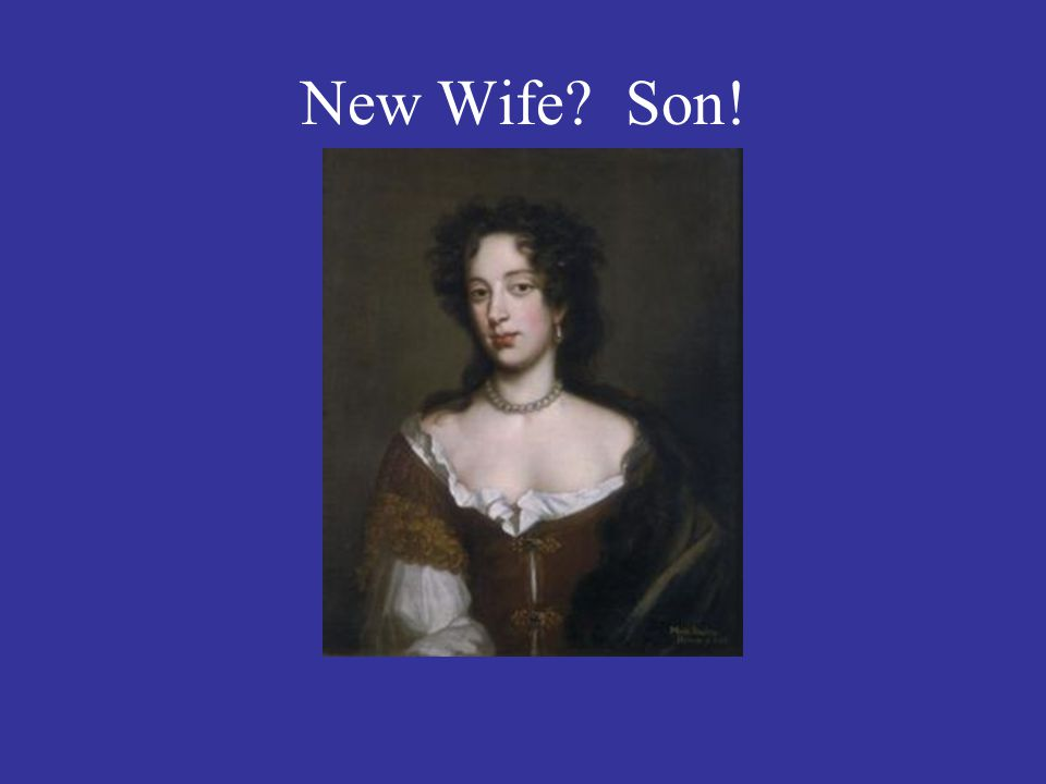 New Wife? Son!
