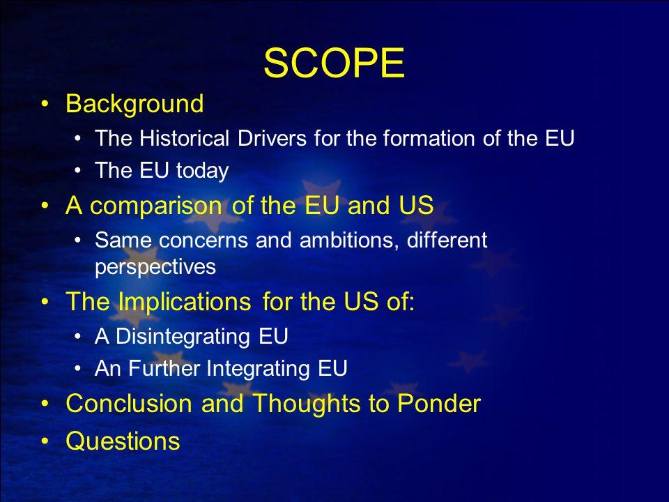 DIPLOMATIC CONSEQUENCES Multiple actors vs One EU