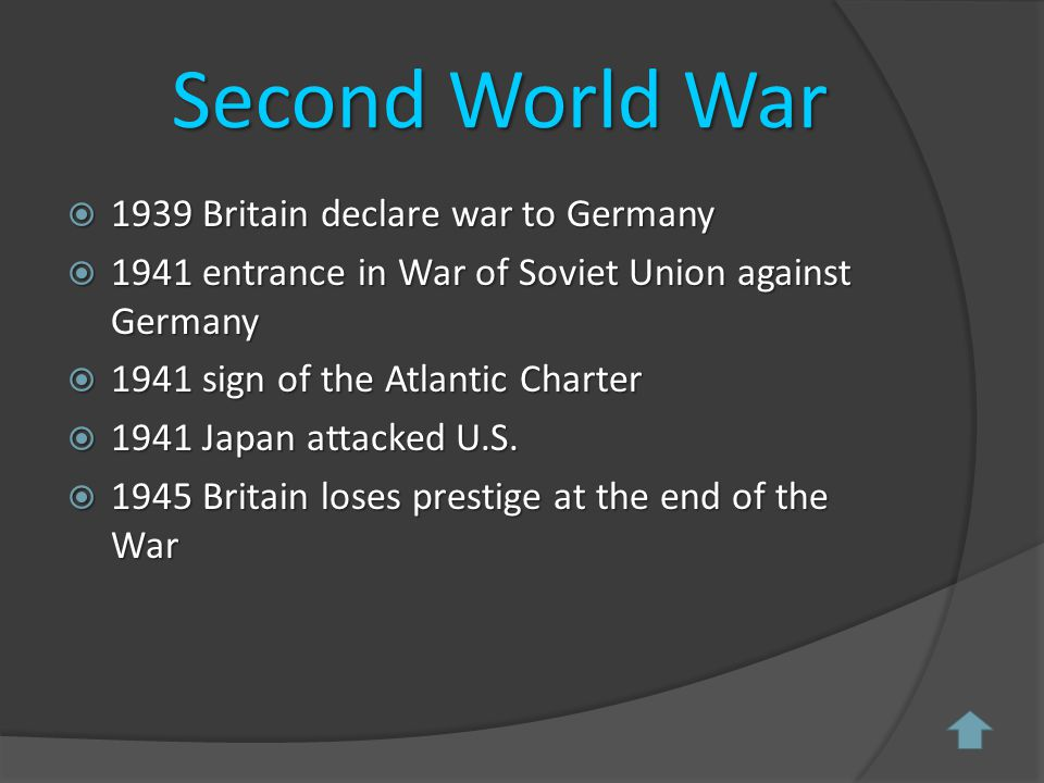 First World War  At the beginning of the 20 th century Britain was scared of the rapid growth of Germany.