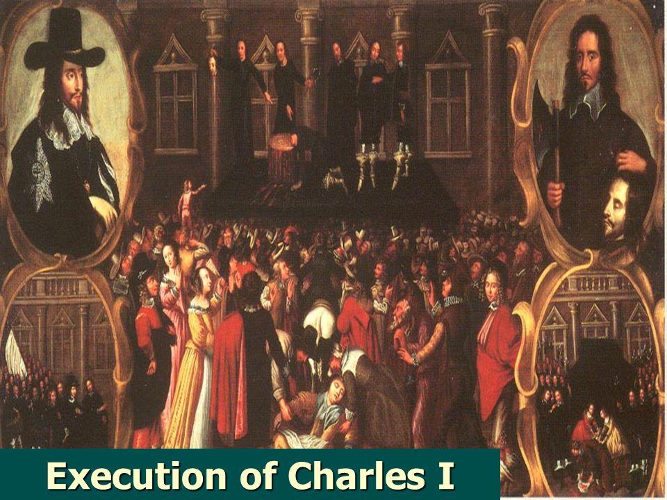 Civil War - 1642 Parliament won; led by military genius, Oliver Cromwell Parliament won; led by military genius, Oliver Cromwell Got rid of non-suppor