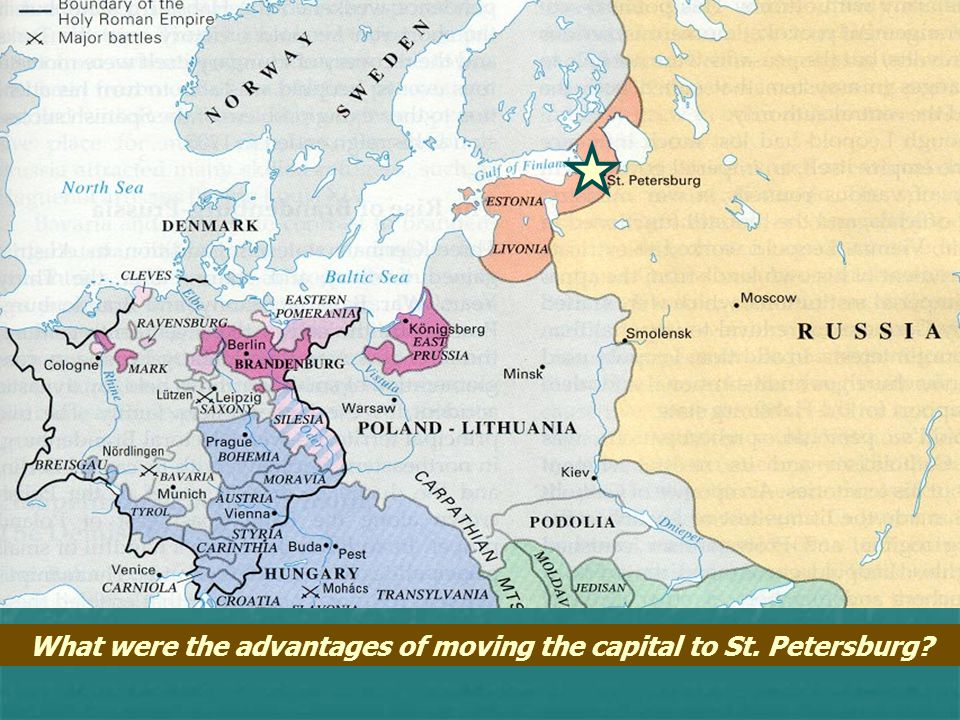Peter the Great Drafted peasants for 25-year stints of military service Drafted peasants for 25-year stints of military service Established 1 st Russi