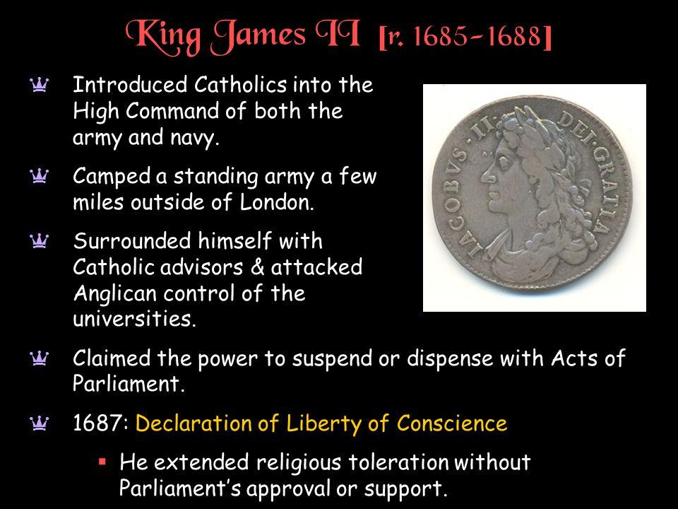 King James II [ r.