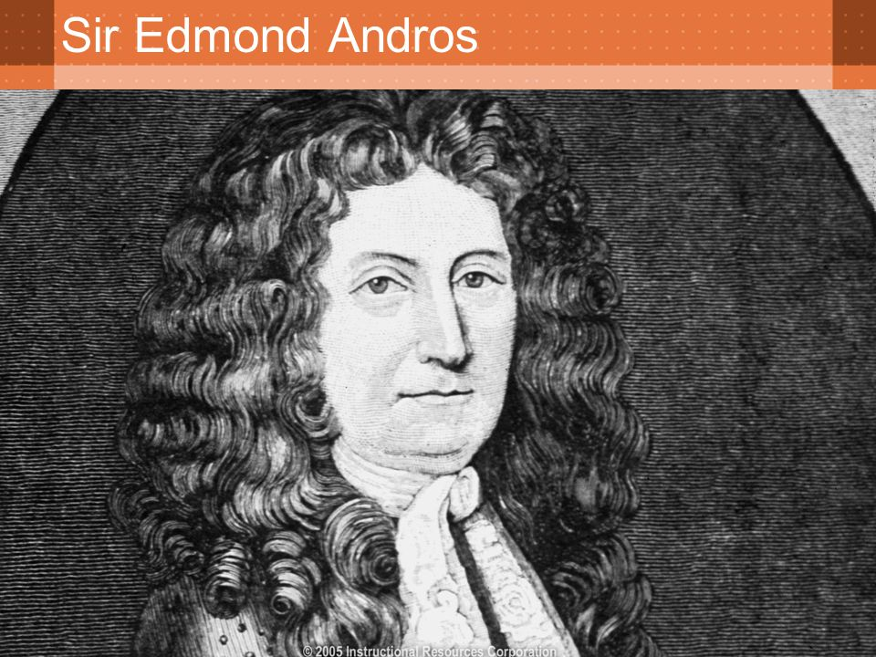 Sir Edmond Andros