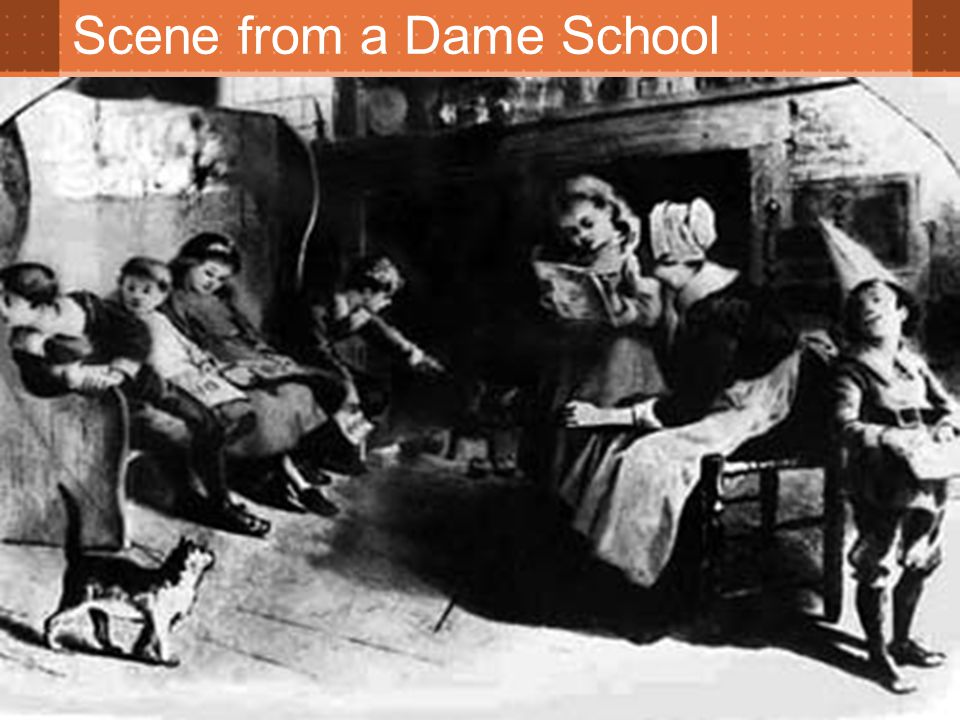 Scene from a Dame School