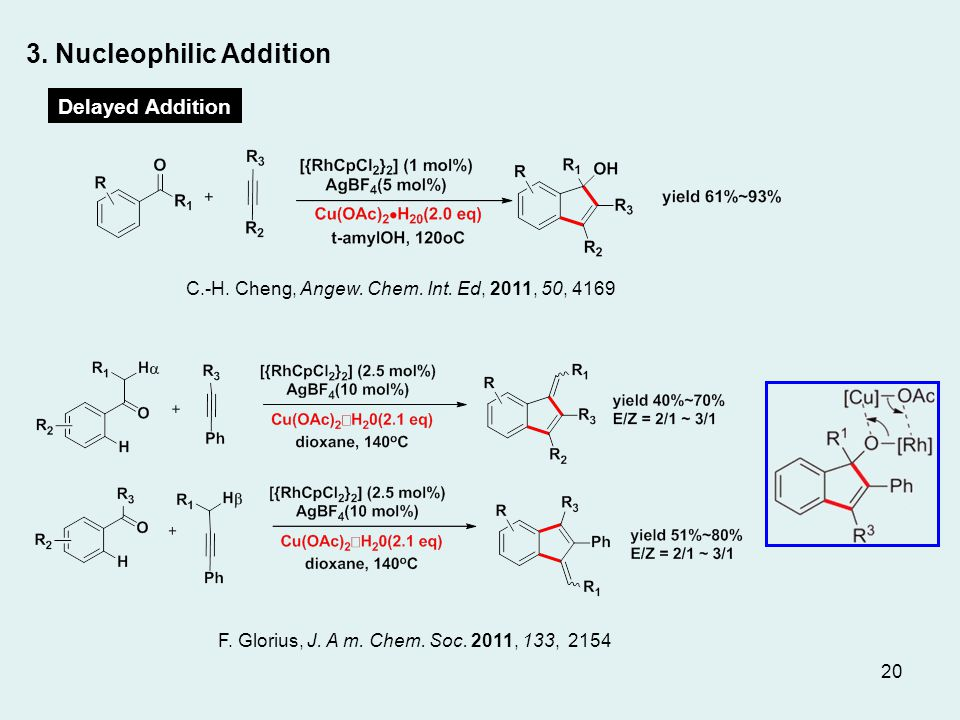 C.-H. Cheng, Angew. Chem. Int. Ed, 2011, 50, 4169 F.