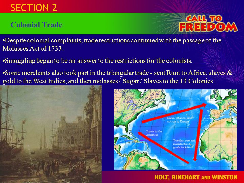 SECTION 2 The Middle Passage The most treacherous & deadly part of the trade route.