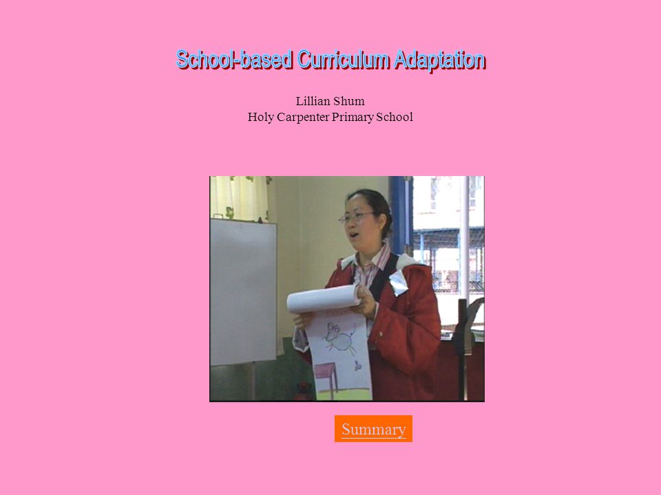 Lillian Shum Holy Carpenter Primary School Summary