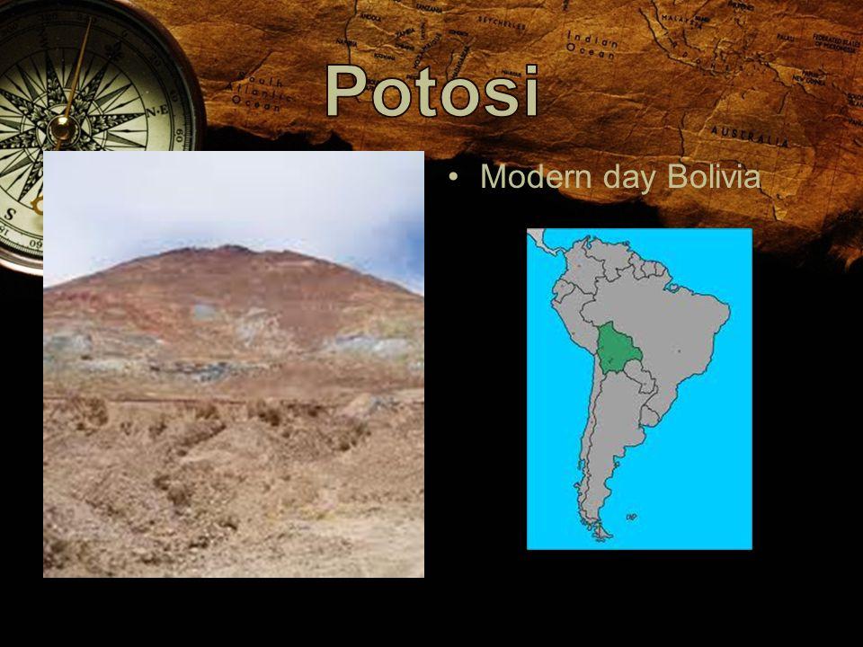 Modern day Bolivia