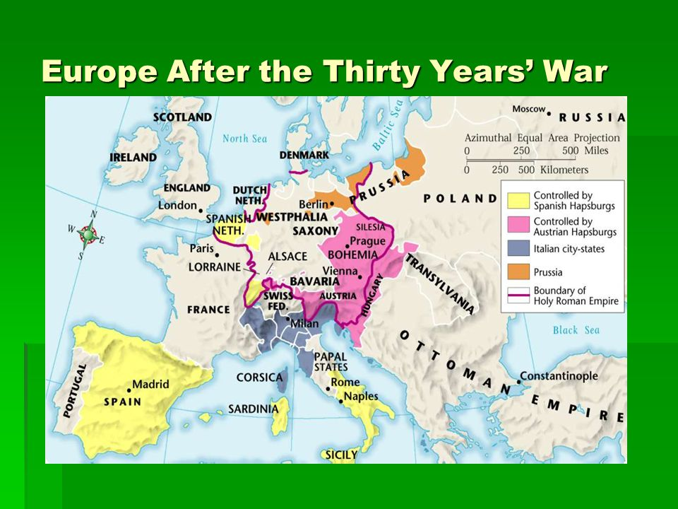 Europe After the Thirty Years' War