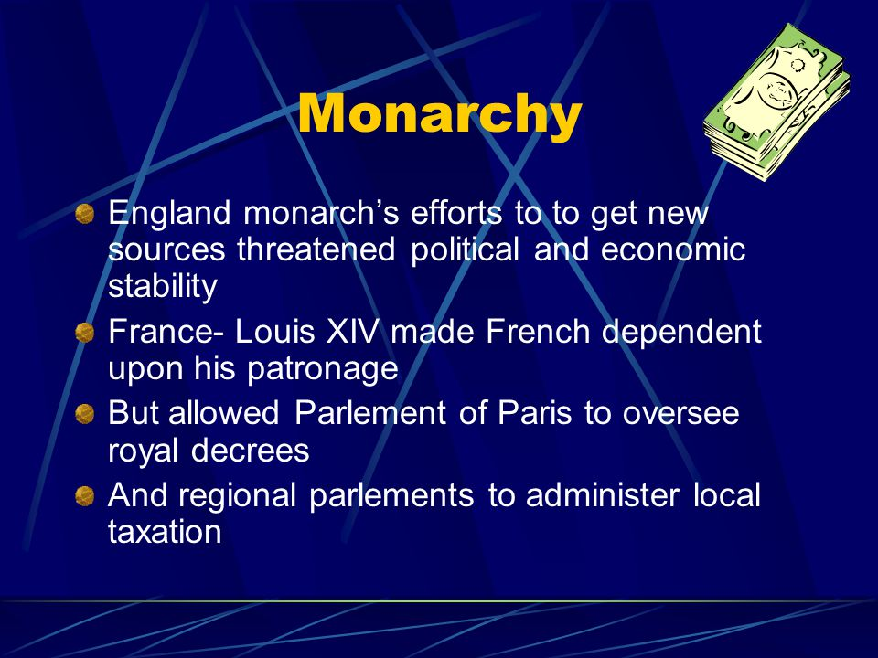 Two Models of European Political Development Monarchy Religion Government