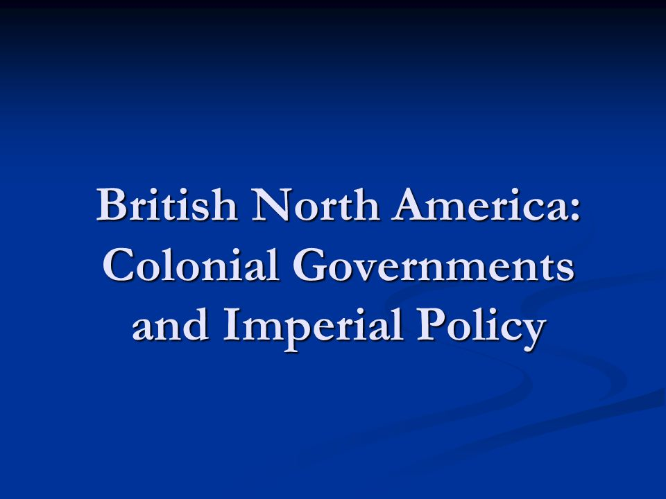 British Colonial Trade Regulations During the reign of James II, economic restrictions were imposed on the colonists to foster economic dependence.