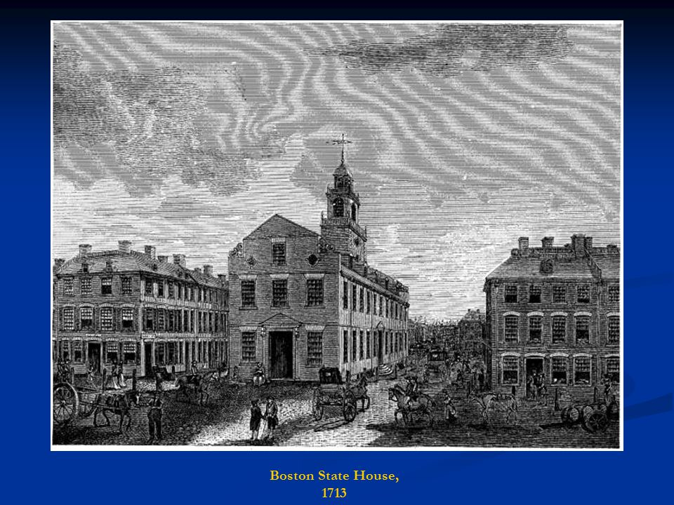 Boston State House, 1713