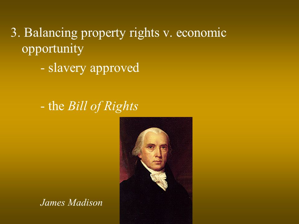 3. Balancing property rights v.