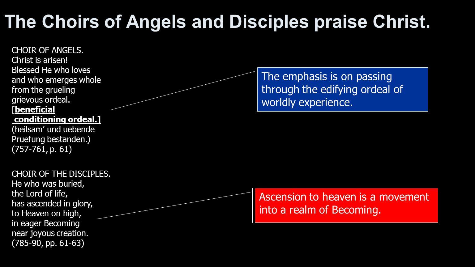 CHOIR OF THE DISCIPLES.