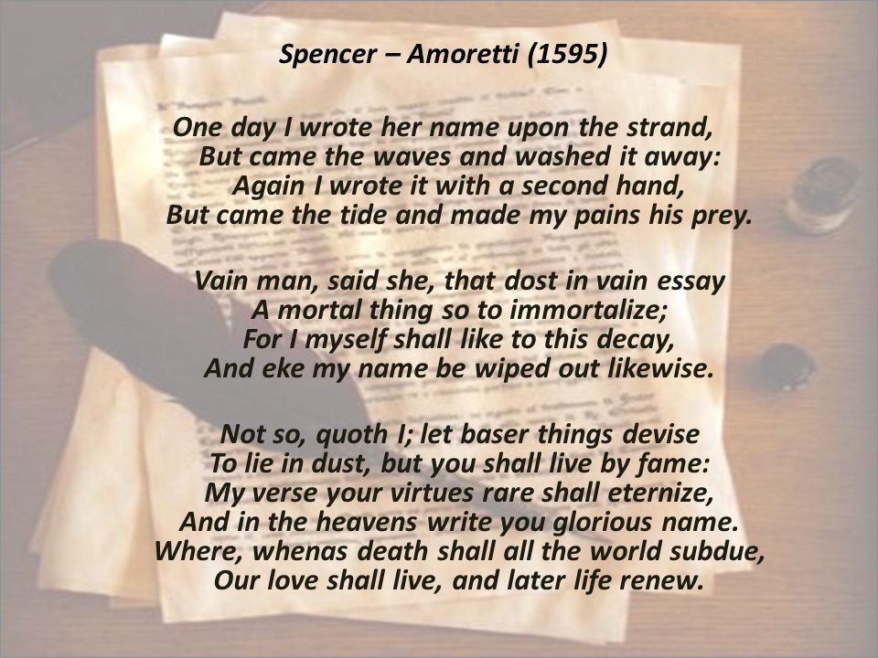 1) a) Give the rhyme scheme of the sonnet: ABAB BCBC CDCD EE.