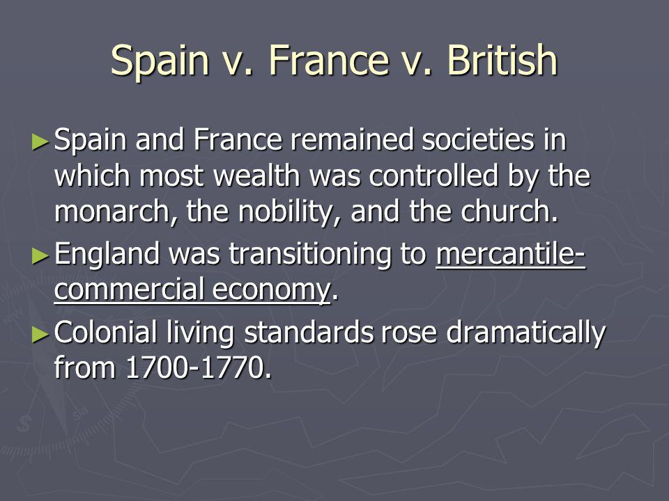 Spain v. France v.