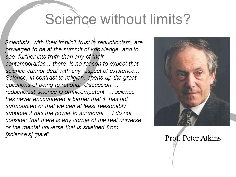 Science without limits.