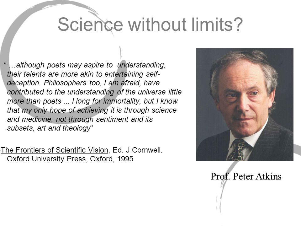 Limits of Science.