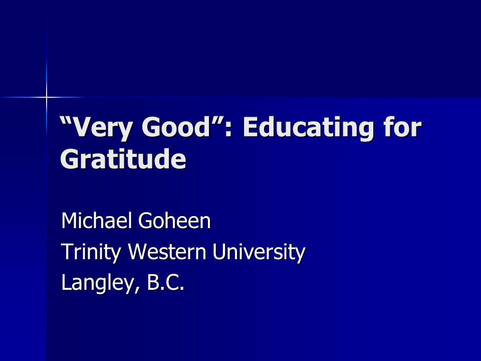 God's Evaluation God saw that it was good (6x) God saw that it was good (6x) Completion: It was very good.