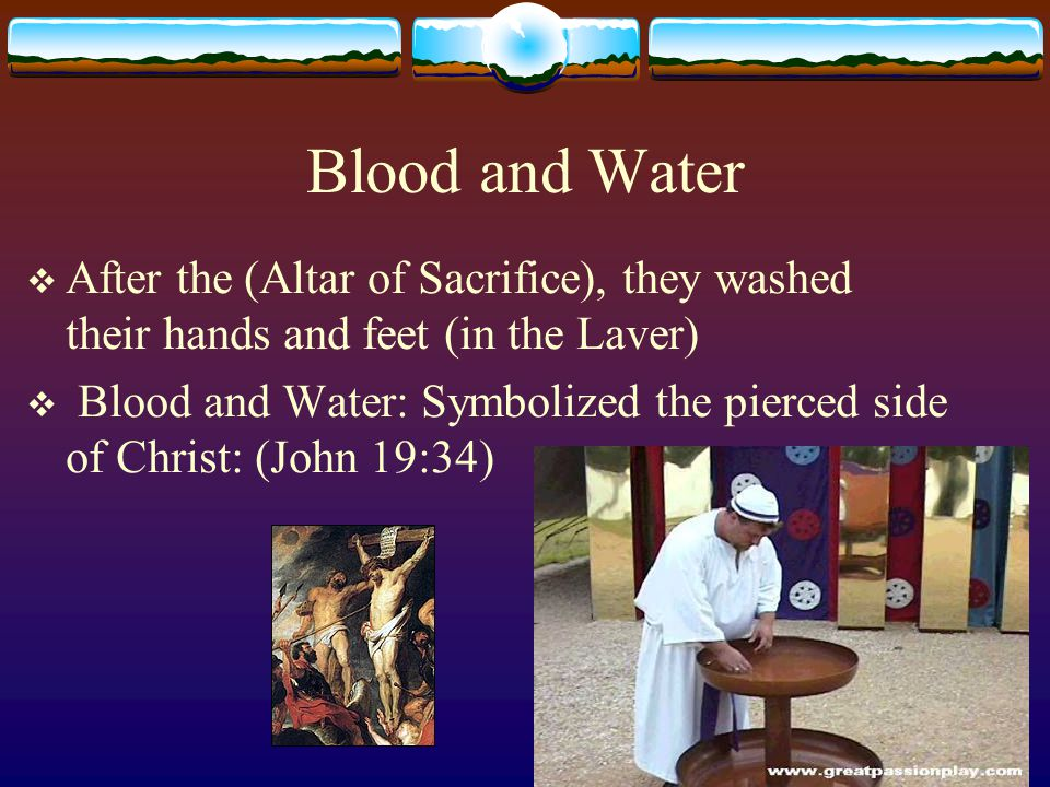 A Pre-requisite  John 13:5-10:  If I do not wash you, you have no part with Me.  Christ washed his disciples feet BEFORE the Eucharist.