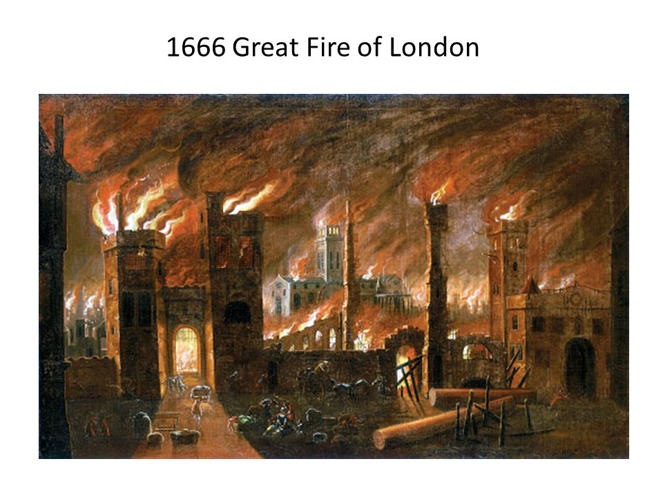 1666 Great Fire of London