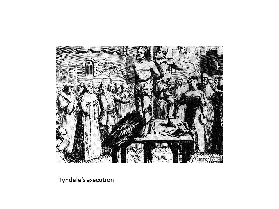 Tyndale's execution